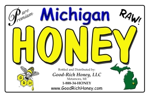 Good-Rich Honey Sign